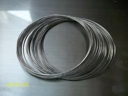 50 inches of  60/40 Tin Lead Solder .010 Dia  Low Melt  -- M