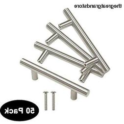 50 pack 76mm3inch Hole Centers Stainless Steel Kitchen Cabin