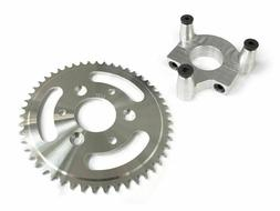 50 Tooth CNC Sprocket & 1.8 Inch Adapter Assembly 80CC Gas M