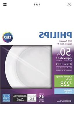 Philips 50 Watt Equivalent 4 inch 5000K LED Dimmable Downlig