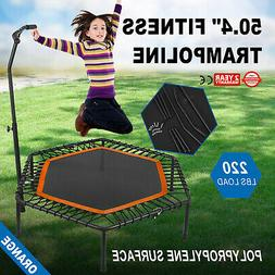 50Inch Exercise Fitness Trampoline Jump Training Portable Ba