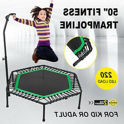 50inch Exercise Fitness Trampoline Jump Training Portable Re