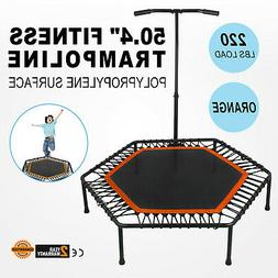 50Inch Exercise Fitness Trampoline Jump Training Portable Wo