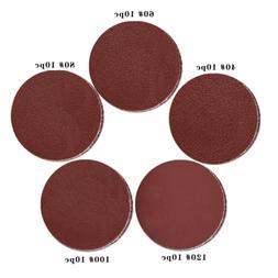 50pcs 7INCH 40/60/80/100/120 Grit No Hole High Quality Sandi