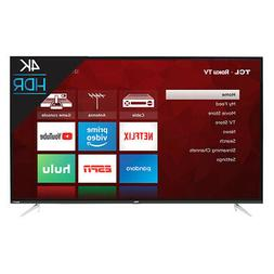 "TCL 50S423 50"" 4K UHD HDR Roku Smart LED TV"