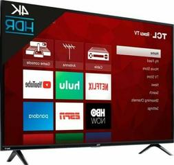 TCL 50S425 50 inch 4K Smart LED Roku TV  Most Popular 4K TV