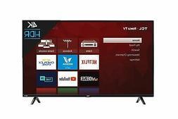 TCL 50S425 50 inch 4K Smart LED Roku TV  TV only