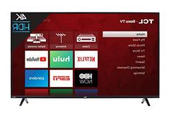 TCL 50S425 50 inch 4K Smart LED ROKU TV 2019