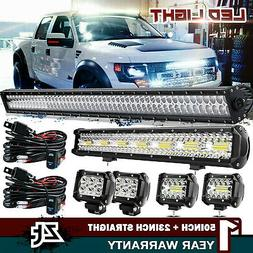 52inch curved led light bar 22 inch