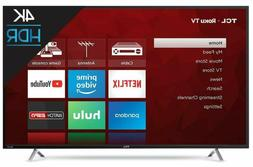 TCL 55-Inch 4K Ultra HD Roku Smart Slim LED TV 2017 Model 55