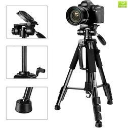 ESDDI 55 Travel Portable Camera Tripod, Professional Digital