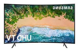 "Samsung UN55NU7300 Curved 55"" 4K UHD 7 Series Smart TV 2018"