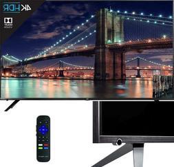 TCL 55R617 55-Inch 4K Ultra HD Roku Smart LED TV 3 HDMI 1 US