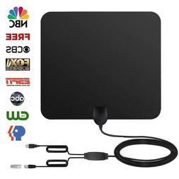 60 Miles Range Digital HD TV Antenna, Indoor HDTV High Defin