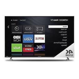 "Hitachi 65"" ""Class 4K  Roku Smart LED TV"
