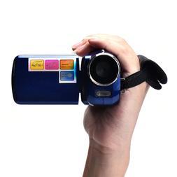 720P HD Webcam Camera 1.8 Inch TFT 4X Digital Zoom Mini Vide