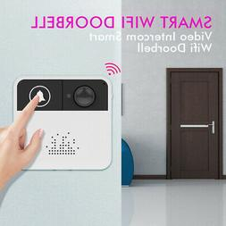 720P Wireless WiFi Security Camera Doorbell 8-32GB TF Suppor