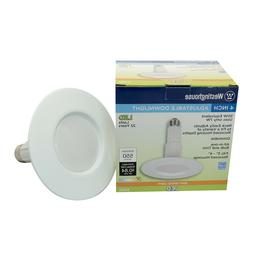 "Westinghouse 7W  4"" Inch Adjustable Downlight 550 Lumens 270"