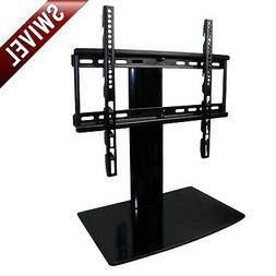 Aeon Stands and Mounts Small TV Stand with Swivel and Height