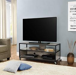 "Altra Mason Ridge Mobile 46"" TV Stand with Metal Frame, Sono"