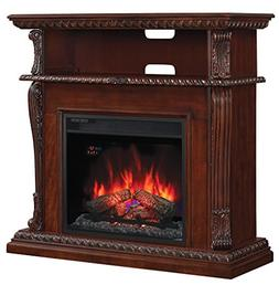 ClassicFlame 23DE1447-C233 Corinth Wall or Corner TV Stand f