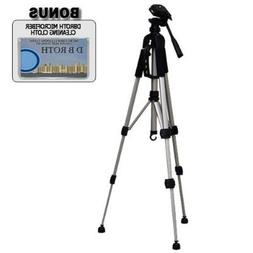 """Deluxe 57"""" Camera Tripod with Carrying CaseFor The Sanyo Dua"""