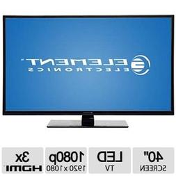 "Element 40"" Class 1080p 120Hz LED TV - Black - ELEFT406"