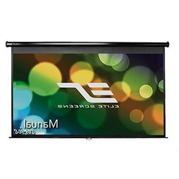 Elite Screens Manual Series, 80-INCH 16:9, Pull Down Manual