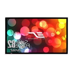 Elite Screens Sable Frame B2, 135-INCH Diag. 16:9, Active 3D