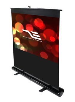 Elite Screens F80NWH ezCinema Series Portable Projection Scr