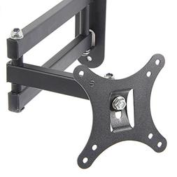 Full Motion Tilt Swivel TV Wall Mount Bracket, Lumsing 10-32