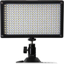 Genaray LED-7100T 312 LED Variable-Color On-Camera Light