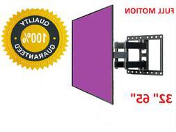 Husky TV Wall Mount Swivel 32 40 42 47 65 Inch LED LCD Flat