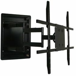 In Wall TV Mount, Recessed Articulating In Wall TV Mount for