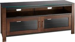 """Insignia- TV Stand for Most Flat-Panel TVs Up to 60"""" - Mocha"""