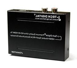 J-Tech Digital ULTRA HD 4K HDMI To HDMI + Audio  Audio Extra