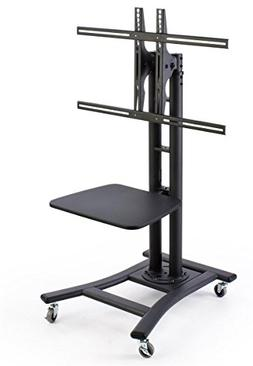 "Displays2go, Mobile TV Stand for 37"" to 70"" LCD Monitor, 4 L"