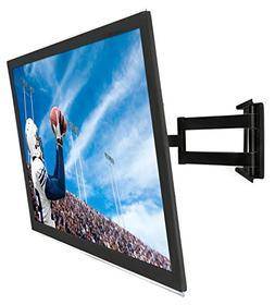 Mount It Full Motion Corner Tv Wall Low Profile Slim