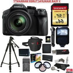 Panasonic LUMIX DMC FZ300 4K Point and Shoot Camera with Lei