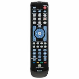 RCA RCRN04GBE Four-Device Universal Remote, Black