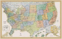 Rand Mcnally United States Wall Map