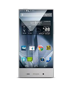 Sharp Aquos Crystal Silver