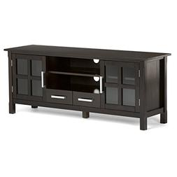 Simpli Home Kitchener Solid Wood TV Media Stand for TVs up t