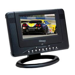 Supersonic SC491 7-Inch TV/DVD Combo