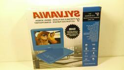 Sylvania 9-Inch Swivel Screen Portable DVD/CD/MP3 Player wit