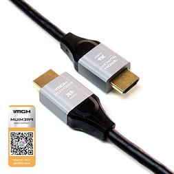 Tera Grand - 3 FT Premium HDMI Certified 2.0 Cable, 4K Ultra