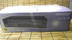 Toshiba Hi-Fi W614 VHS VCR Player 4 Head Stereo