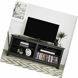 "WE Furniture 58"" Wood TV Media Stand Storage Console - Tradi"