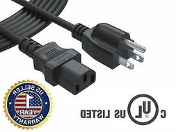 AC Power Cord Cable for Insignia LCD TV 12 Feet 12Ft Extra L