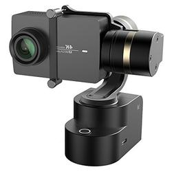 YI 4K Action Camera Bundled 3-Axis Gimbal Stabilizer Selfie